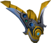 Augmented Armadyl buckler detail