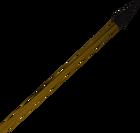 Black spear detail old