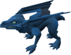 Hatchling dragon (blue) pet