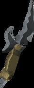 Off-hand primal dagger detail
