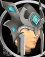 Relic helm of Seren chathead