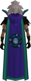 Retro hooded divination cape (t) equipped