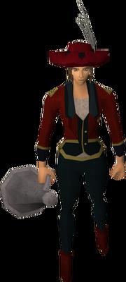 Ringmaster costume (female) equipped