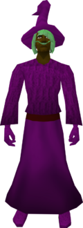 Robe (Canifis) purple equipped