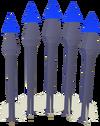Sapphire bolts detail