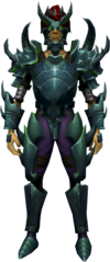 Shadow Gorilla armour equipped