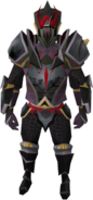 Veteran beast armour equipped (male)