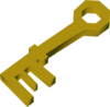 A key to a chest detail