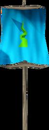 Banner (Guthix) detail