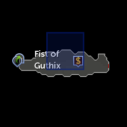 Fist of Guthix Reward Shop location