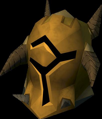 File:Golden warpriest of Bandos helm detail.png