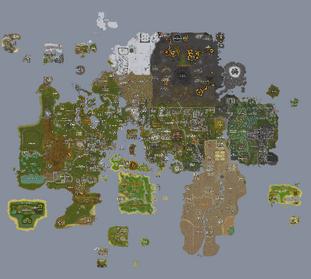 Mapa RuneScape