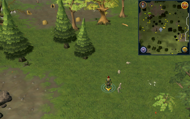 File:Scan clue Piscatoris Hunter area slightly north-east of the central Hunter training icon.png