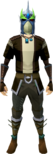 Strong slayer helmet (green) equipped.png
