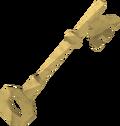 Complex key detail