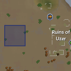 Demon Flash Mob (Uzer) location