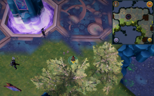 Scan clue Heart of Gielinor north of The Heart (right side)