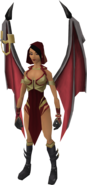 Vyrewatch Skyshadow outfit equipped (female)