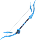 Augmented crystal bow detail