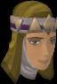 Dervish hood (sepia) chathead