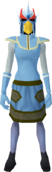 Mighty slayer helmet (f) (red) equipped.png