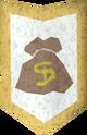 Rune kiteshield (Money) detail