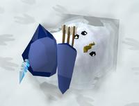 Snow ranger (melted)