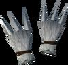 Werewolf claws (white, female) detail