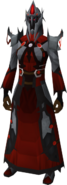 Zamorakian war robes equipped (female)