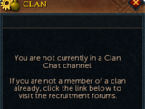 Clan Chat