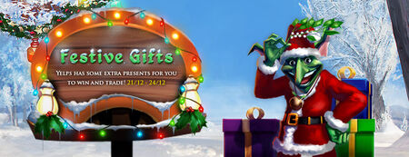 Festive Gifts banner