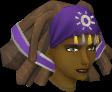 Modified diviner's headwear chathead (female)