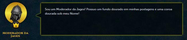 Post Moderador da Jagex