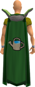 Retro farming cape equipped