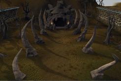 Underground Pass entrance