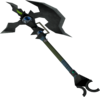 Augmented Dharok's greataxe detail