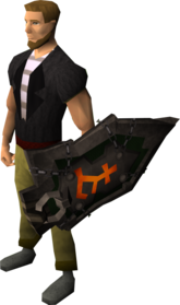 Bandos warshield equipped