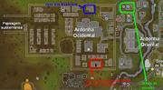 Cidade da praga mapa 1