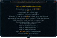 Completed Dominion marker interface