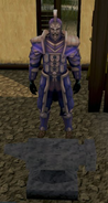 Invictum armour set equipped
