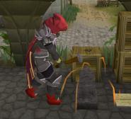 Max treinando metalurgia