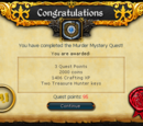 Murder Mystery/Quick guide