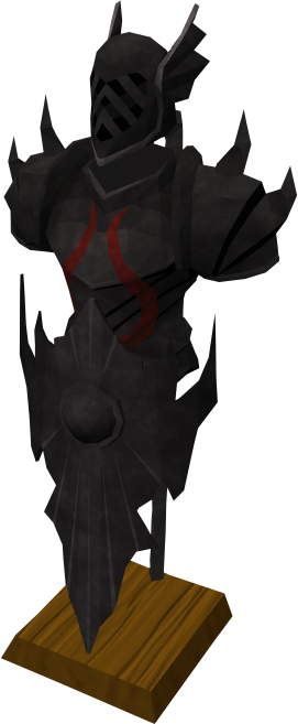 Runescape black armour