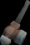 Off-hand warhammer (class 4) detail