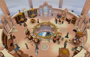 Runecrafting guild view
