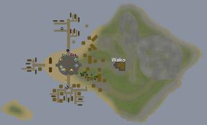 Waiko mapa