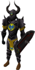 Black armour (h3) (lg) equipped