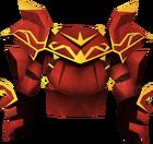 Dragon platebody (or) detail