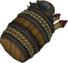 Explosive barrel detail