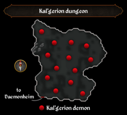 Kal'gerion dungeon map